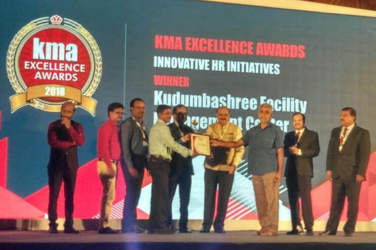 FMC project manager Dilraj K.R recieves KMA award for excellence