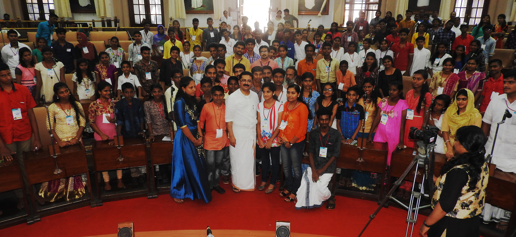 Dr. K.T.Jaleel with Bala Parliament members